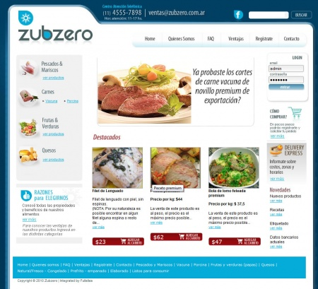 We develop an ecommerce application for Zubzero so their customers can browse and get the same exclusive products that they sell in premium markets.