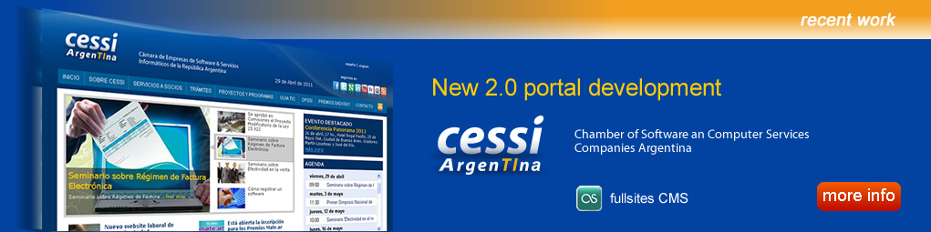 New web development for CESSI