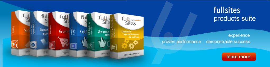 fullsites products suite